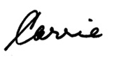 carriesignature